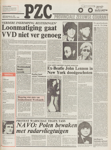 Provinciale Zeeuwse Courant 1980-12-10