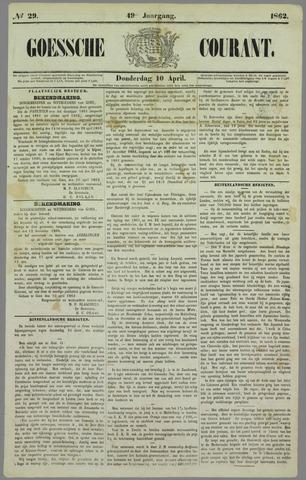 Goessche Courant 1862-04-10