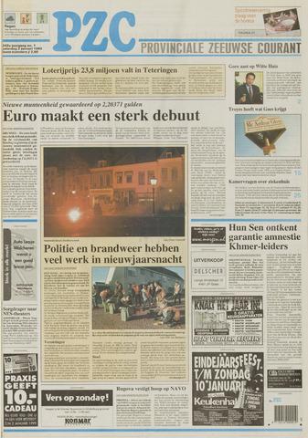 Provinciale Zeeuwse Courant 1999