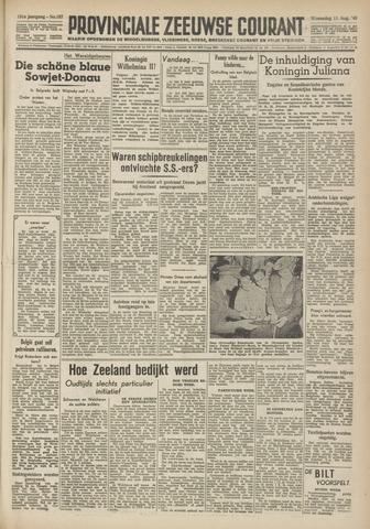 Provinciale Zeeuwse Courant 1948-08-11