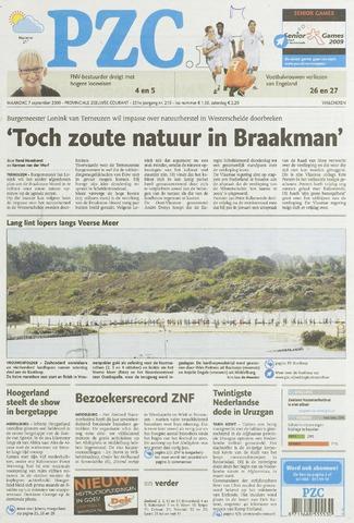 Provinciale Zeeuwse Courant 2009-09-07