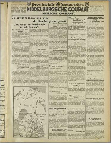 Middelburgsche Courant 1939-11-30