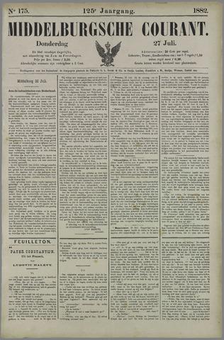 Middelburgsche Courant 1882-07-27