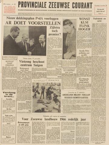 Provinciale Zeeuwse Courant 1966-11-02