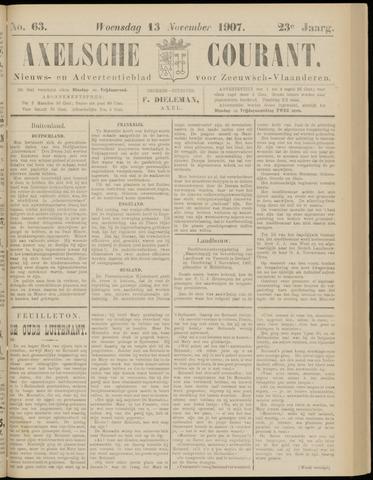 Axelsche Courant 1907-11-13
