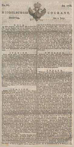 Middelburgsche Courant 1768-06-02