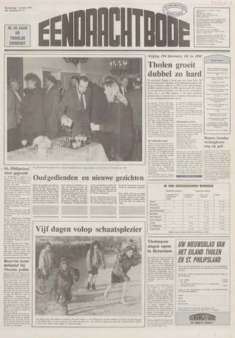 Eendrachtbode (1945-heden)/Mededeelingenblad voor het eiland Tholen (1944/45) 1993