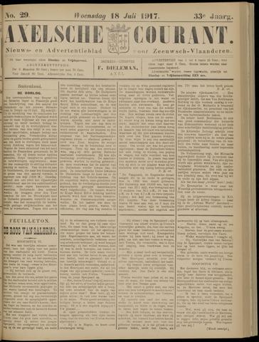 Axelsche Courant 1917-07-18