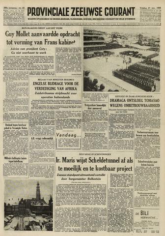 Provinciale Zeeuwse Courant 1956-01-27