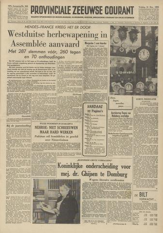 Provinciale Zeeuwse Courant 1954-12-31