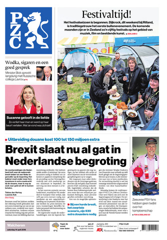 Provinciale Zeeuwse Courant 2018-04-14