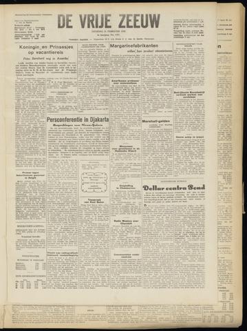 de Vrije Zeeuw 1950-02-21