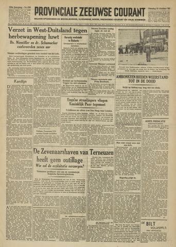 Provinciale Zeeuwse Courant 1950-10-31