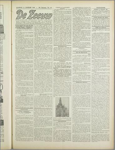 De Zeeuw. Christelijk-historisch nieuwsblad voor Zeeland 1944-01-11