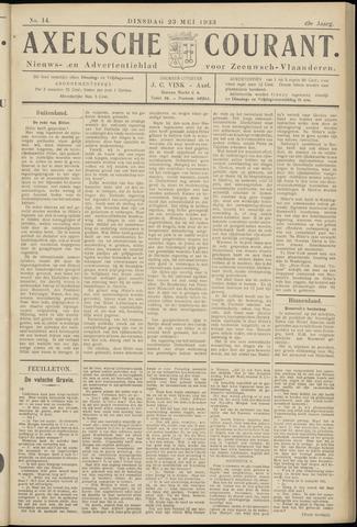 Axelsche Courant 1933-05-23