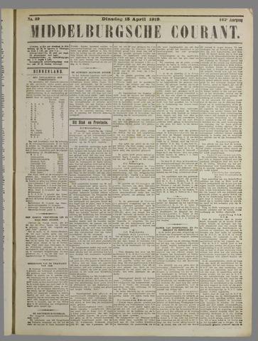 Middelburgsche Courant 1919-04-15