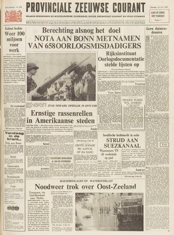 Provinciale Zeeuwse Courant 1967-07-15