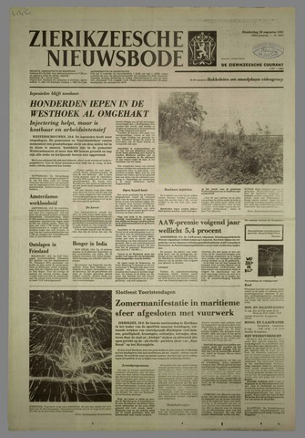 Zierikzeesche Nieuwsbode 1981-08-20