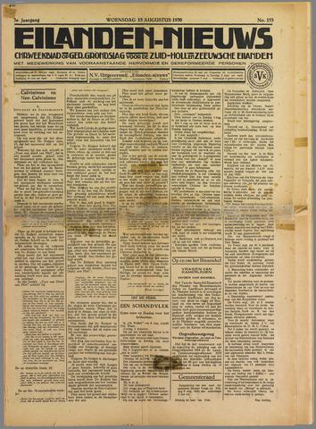 Eilanden-nieuws. Christelijk streekblad op gereformeerde grondslag 1930