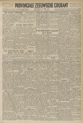 Provinciale Zeeuwse Courant 1945-04-26