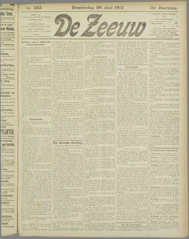 De Zeeuw. Christelijk-historisch nieuwsblad voor Zeeland 1917-06-28