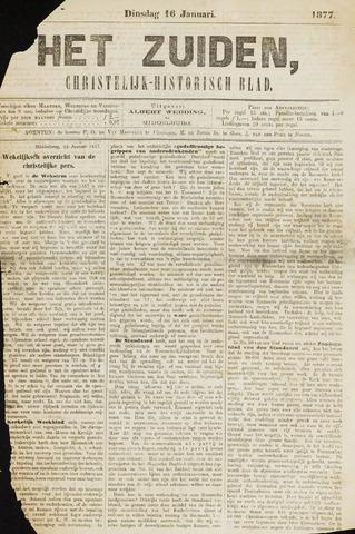 Het Zuiden, Christelijk-historisch blad 1877-01-16