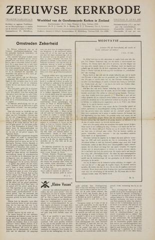 Zeeuwsche kerkbode, weekblad gewijd aan de belangen der gereformeerde kerken/ Zeeuwsch kerkblad 1957-06-21
