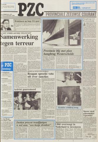 Provinciale Zeeuwse Courant 1986-09-26