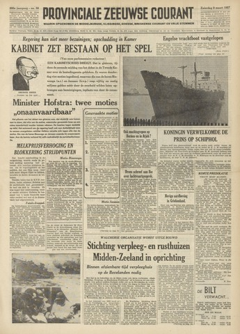 Provinciale Zeeuwse Courant 1957-03-09