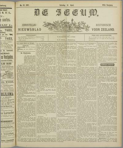 De Zeeuw. Christelijk-historisch nieuwsblad voor Zeeland 1897-04-10