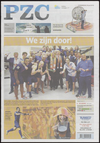Provinciale Zeeuwse Courant 2014-06-19