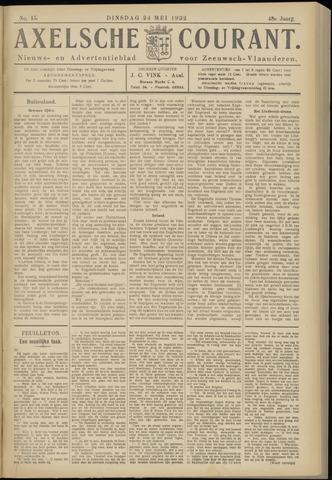 Axelsche Courant 1932-05-24