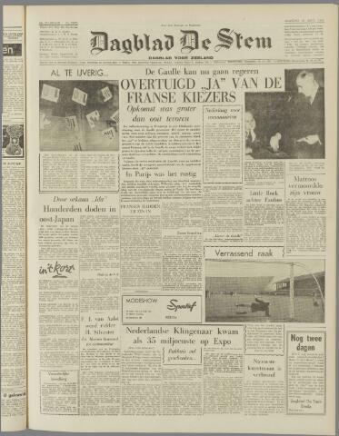 de Stem 1958-09-29