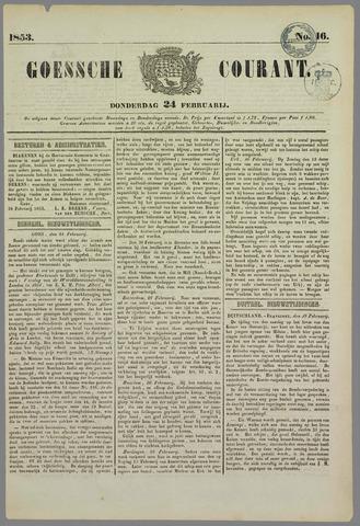 Goessche Courant 1853-02-24