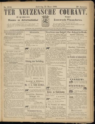 Ter Neuzensche Courant. Algemeen Nieuws- en Advertentieblad voor Zeeuwsch-Vlaanderen / Neuzensche Courant ... (idem) / (Algemeen) nieuws en advertentieblad voor Zeeuwsch-Vlaanderen 1899-03-25