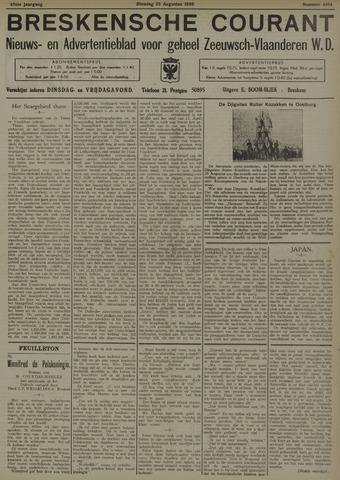 Breskensche Courant 1936-08-25