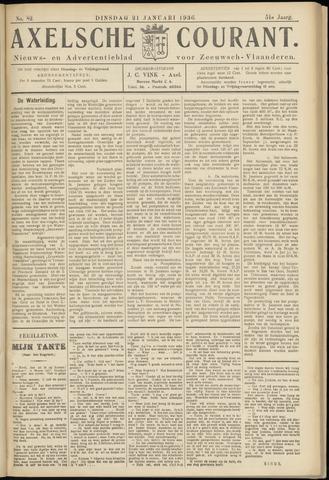 Axelsche Courant 1936-01-21
