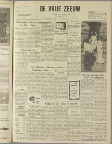 de Vrije Zeeuw 1962-11-17