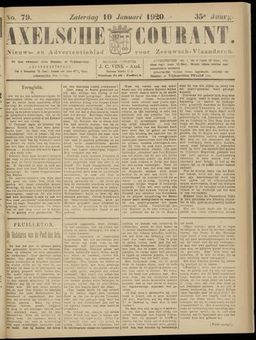 Axelsche Courant 1920-01-10