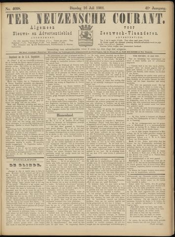 Ter Neuzensche Courant. Algemeen Nieuws- en Advertentieblad voor Zeeuwsch-Vlaanderen / Neuzensche Courant ... (idem) / (Algemeen) nieuws en advertentieblad voor Zeeuwsch-Vlaanderen 1901-07-16