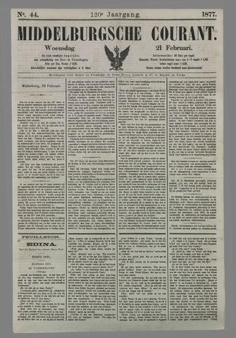 Middelburgsche Courant 1877-02-21