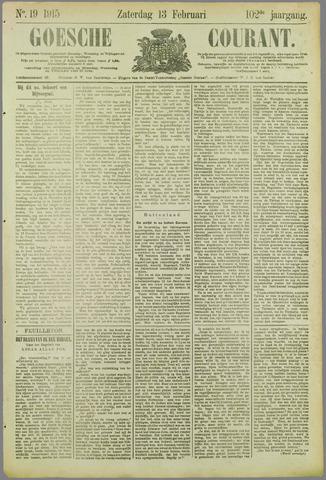 Goessche Courant 1915-02-13