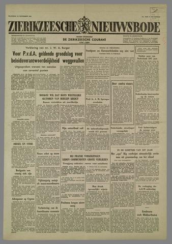 Zierikzeesche Nieuwsbode 1958-11-24