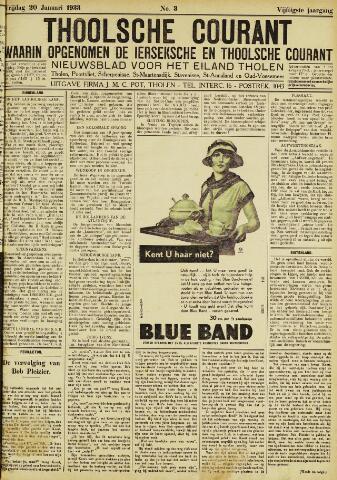 Ierseksche en Thoolsche Courant 1933-01-20