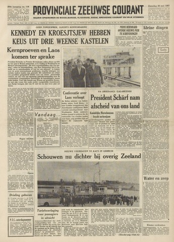 Provinciale Zeeuwse Courant 1961-05-20