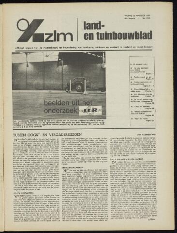Zeeuwsch landbouwblad ... ZLM land- en tuinbouwblad 1972-10-27