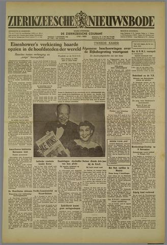 Zierikzeesche Nieuwsbode 1952-11-07