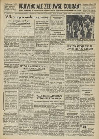 Provinciale Zeeuwse Courant 1950-09-25