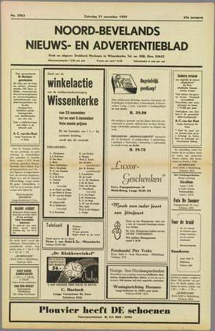 Noord-Bevelands Nieuws- en advertentieblad 1959-11-21