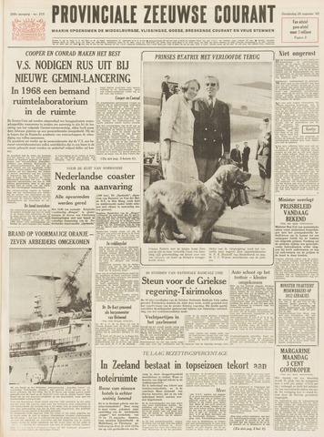 Provinciale Zeeuwse Courant 1965-08-26